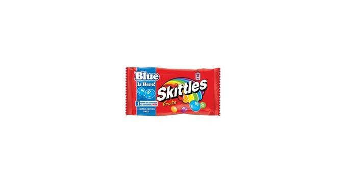 Skittles introduces limited edition blue