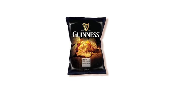 Burts – and the first-ever Guinness-flavoured crisp