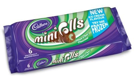 Cadburys Mini Roll Advert Cadburys Mini Rolls Range