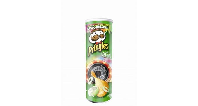 Pringles launches disco speaker promotion