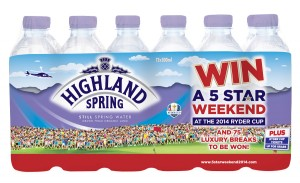 Photo of Highland Spring Ryder Cup on pack 300x183